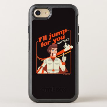 """Toy Story 4   Duke Caboom """"I'll Jump For You"""" OtterBox Symmetry iPhone 8/7 Case"""
