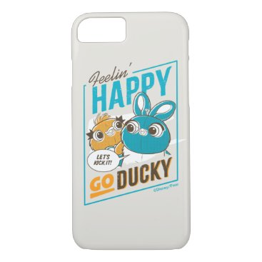 Toy Story 4   Feelin' Happy Go Ducky iPhone 8/7 Case