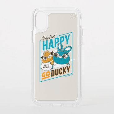 Toy Story 4 | Feelin' Happy Go Ducky Speck iPhone X Case