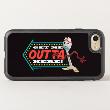 """Toy Story 4   Forky """"Get Me Outta Here"""" OtterBox Symmetry iPhone 8/7 Case"""