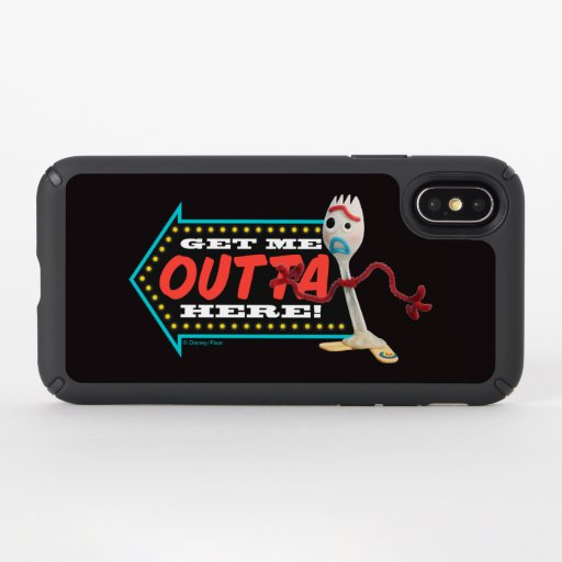 "Toy Story 4 | Forky ""Get Me Outta Here"" Speck iPhone X Case"