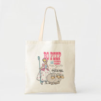 Toy Story 4 | Retro Bo Peep Figure Set Ad Tote Bag