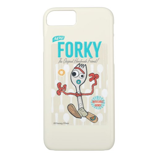 Toy Story 4 | Retro Forky Toy Ad iPhone 8/7 Case