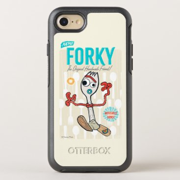 Toy Story 4 | Retro Forky Toy Ad OtterBox Symmetry iPhone 8/7 Case