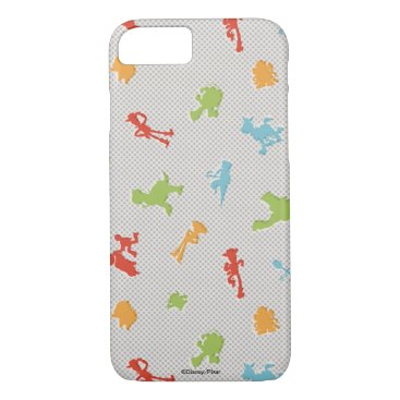Toy Story 4   Retro Toy Shape Toss Pattern iPhone 8/7 Case