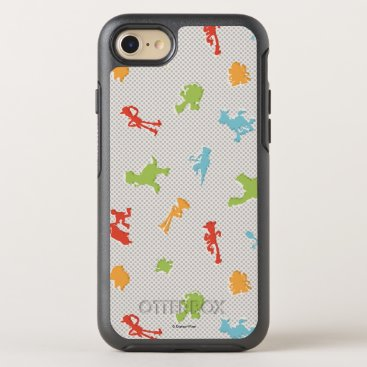 Toy Story 4   Retro Toy Shape Toss Pattern OtterBox Symmetry iPhone 8/7 Case