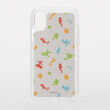 Toy Story 4 | Retro Toy Shape Toss Pattern Speck iPhone X Case