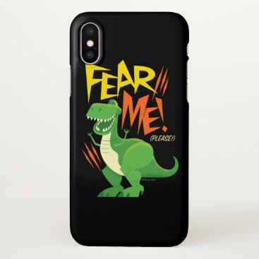"Toy Story 4 | Rex ""Fear Me!"" iPhone X Case"