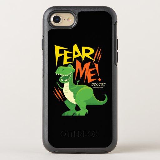 "Toy Story 4 | Rex ""Fear Me!"" OtterBox Symmetry iPhone 8/7 Case"