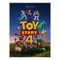 Toy Story 4 | Toys On Field Theatrical Poster
