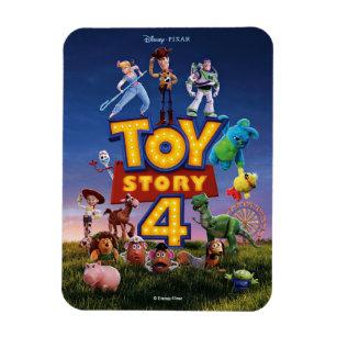 Disney Refrigerator Magnet Toy Story Space Cowboyz