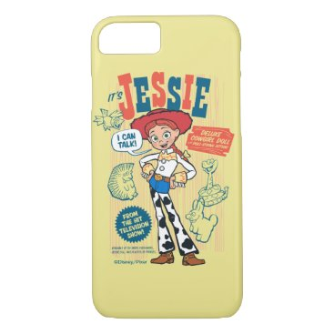 Toy Story 4   Vintage Jessie Cowgirl Doll Ad iPhone 8/7 Case