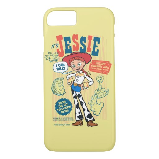Toy Story 4 | Vintage Jessie Cowgirl Doll Ad iPhone 8/7 Case