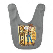 Toy Story 4 | Vintage Sheriff Woody Doll Ad Baby Bib
