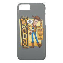 Toy Story 4 | Vintage Sheriff Woody Doll Ad iPhone 8/7 Case