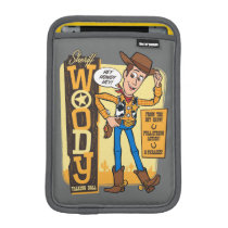 Toy Story 4 | Vintage Sheriff Woody Doll Ad iPad Mini Sleeve