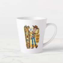 Toy Story 4 | Vintage Sheriff Woody Doll Ad Latte Mug