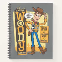 Toy Story 4 | Vintage Sheriff Woody Doll Ad Notebook