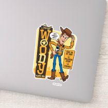 Toy Story 4 | Vintage Sheriff Woody Doll Ad Sticker