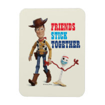 Toy Story 4 | Woody & Forky Walking Together Magnet