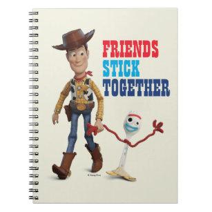 B1 Toy Story 4 Woody Buzz Notebook Bundle X2 Stationairy School Disney Pixar