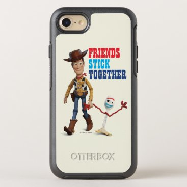 Toy Story 4 | Woody & Forky Walking Together OtterBox Symmetry iPhone 8/7 Case