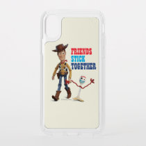 Toy Story 4 | Woody & Forky Walking Together Speck iPhone X Case