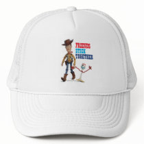 Toy Story 4 | Woody & Forky Walking Together Trucker Hat