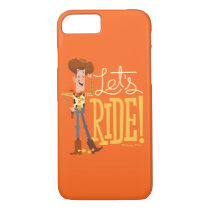 "Toy Story 4 | Woody Illustration ""Let's Ride"" iPhone 8/7 Case"