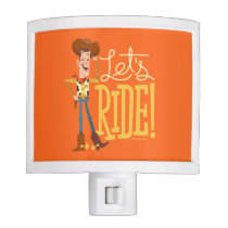 "Toy Story 4 | Woody Illustration ""Let's Ride"" Night Light"