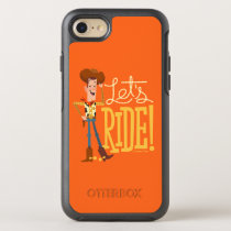 "Toy Story 4 | Woody Illustration ""Let's Ride"" OtterBox Symmetry iPhone SE/8/7 Case"