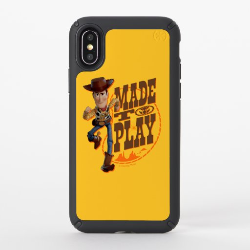 "Toy Story 4 | Woody ""Made To Play"" Speck iPhone X Case"