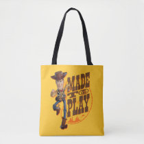 "Toy Story 4 | Woody ""Made To Play"" Tote Bag"