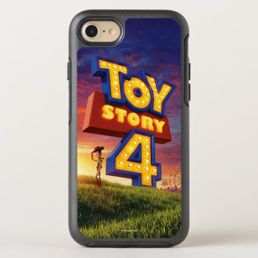 Toy Story 4 | Woody On Field Theatrical Poster OtterBox Symmetry iPhone 8/7 Case