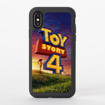 Toy Story 4 | Woody On Field Theatrical Poster Speck iPhone X Case