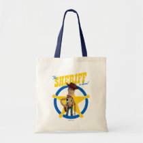 "Toy Story 4 | Woody ""The Sheriff Is Here"" Tote Bag"