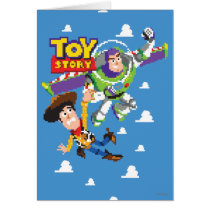 Toy Story 8Bit Woody and Buzz Lightyear