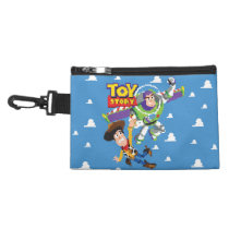 Toy Story 8Bit Woody and Buzz Lightyear Accessory Bag