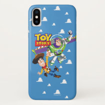 Toy Story 8Bit Woody and Buzz Lightyear iPhone X Case