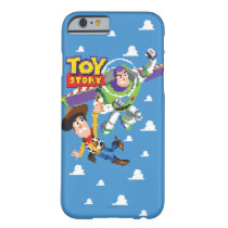 Toy Story 8Bit Woody and Buzz Lightyear Barely There iPhone 6 Case