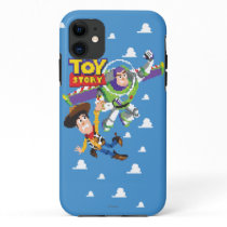 Toy Story 8Bit Woody and Buzz Lightyear iPhone 11 Case