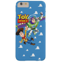 Toy Story 8Bit Woody and Buzz Lightyear Barely There iPhone 6 Plus Case