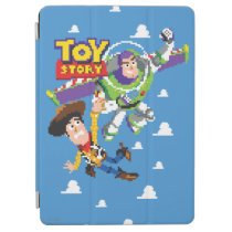 Toy Story 8Bit Woody and Buzz Lightyear iPad Air Cover