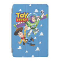 Toy Story 8Bit Woody and Buzz Lightyear iPad Mini Cover