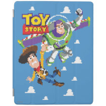 Toy Story 8Bit Woody and Buzz Lightyear iPad Smart Cover