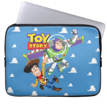 Toy Story 8Bit Woody and Buzz Lightyear Laptop Sleeve