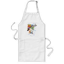 Toy Story 8Bit Woody and Buzz Lightyear Long Apron
