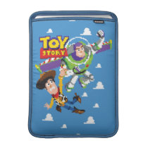 Toy Story 8Bit Woody and Buzz Lightyear MacBook Air Sleeve