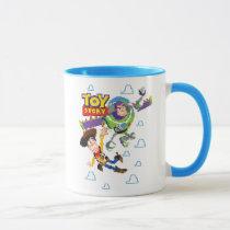 Toy Story 8Bit Woody and Buzz Lightyear Mug