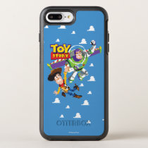 Toy Story 8Bit Woody and Buzz Lightyear OtterBox Symmetry iPhone 8 Plus/7 Plus Case